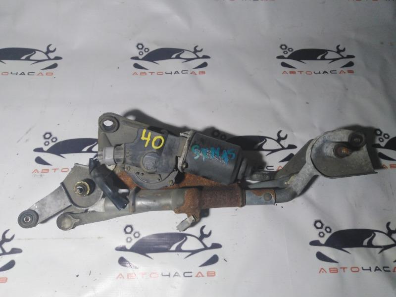 Механизм дворников Toyota Nadia SXN-15 3-S 2000 задний