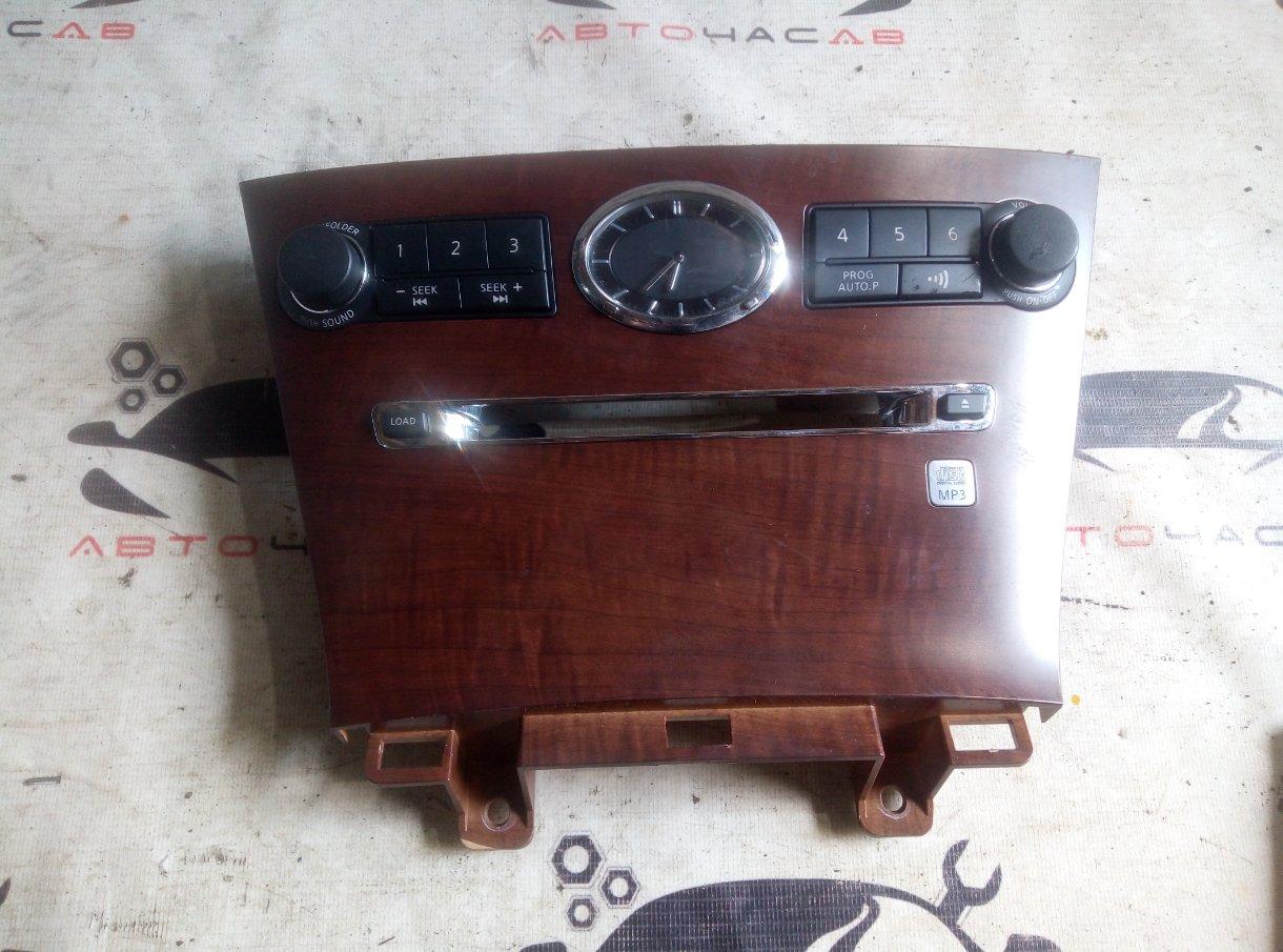 Консоль магнитофона Nissan Fuga GY50 VK45DE