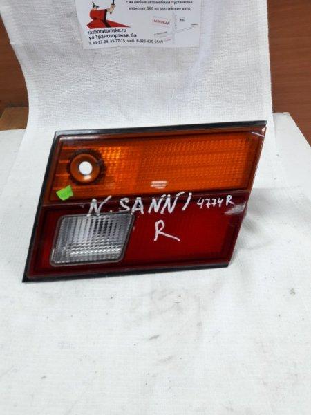 Стоп-планка Nissan Sunny FB14 правая