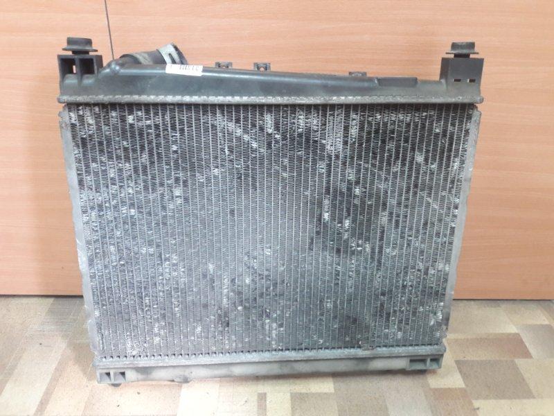 Радиатор основной Toyota Vitz NCP15 2NZFE