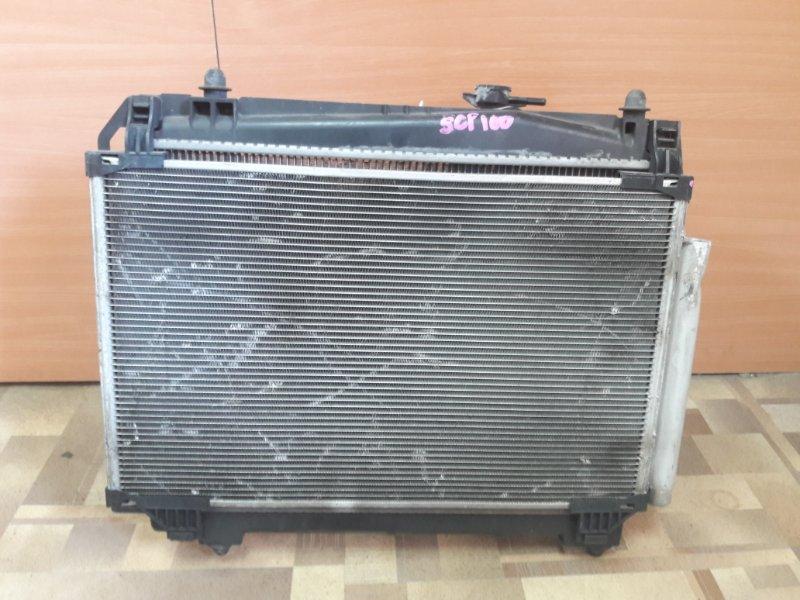 Радиатор основной Toyota Ractis SCP100 2SZFE