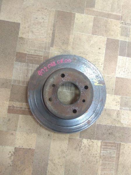 Тормозной диск Nissan Prairie Joy M11 передний