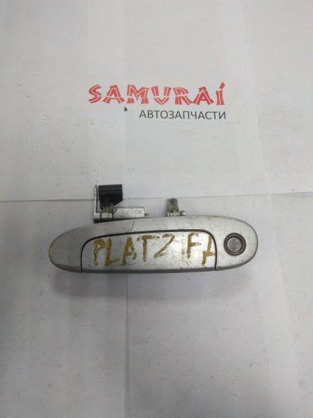 Ручка двери внешняя Toyota Platz SCP11 передняя левая