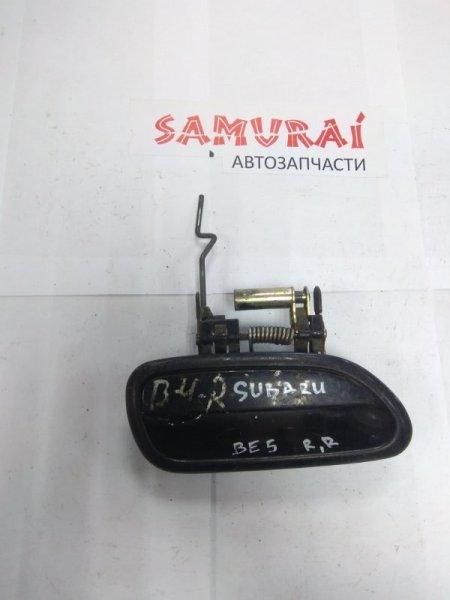 Ручка двери внешняя Subaru Legacy BE5 задняя правая