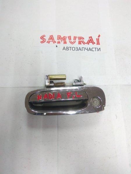 Ручка двери внешняя Toyota Nadia SXM10 передняя левая