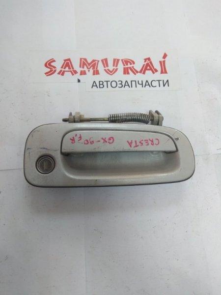 Ручка двери внешняя Toyota Cresta GX90 передняя правая
