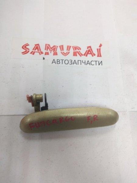 Ручка двери внешняя Toyota Funcargo NCP20 передняя правая