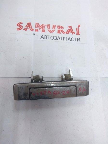 Ручка двери внешняя Toyota Vista SV20 передняя левая