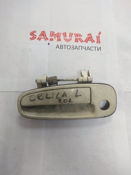 Ручка двери внешняя Toyota Celica ST202 передняя левая