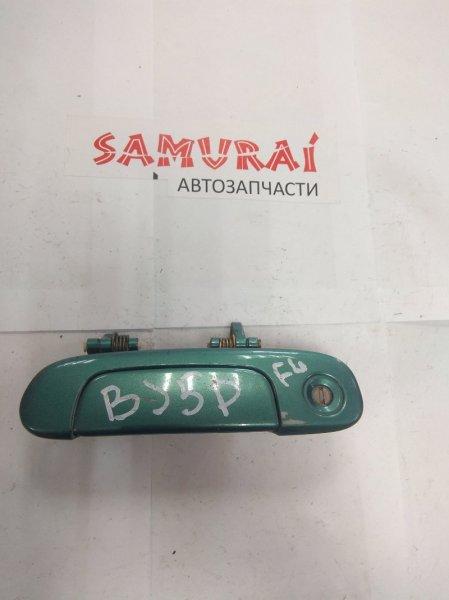 Ручка двери внешняя Mazda Familia BJ5P передняя левая