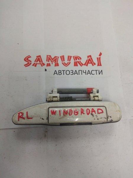 Ручка двери внешняя Nissan Wingroad Y11 задняя левая