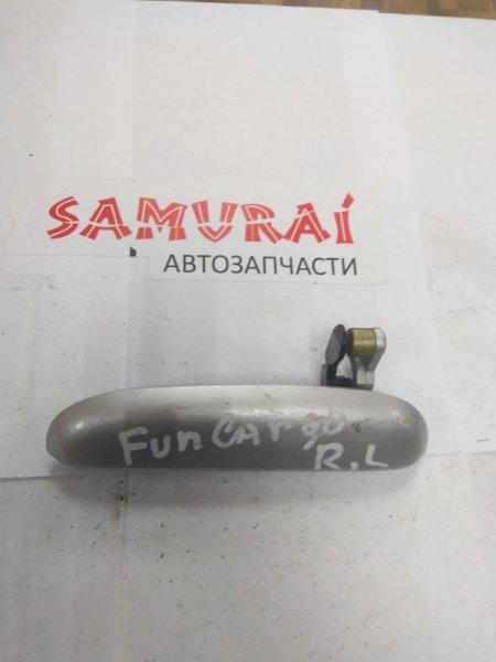 Ручка двери внешняя Toyota Funcargo NCP20 задняя левая