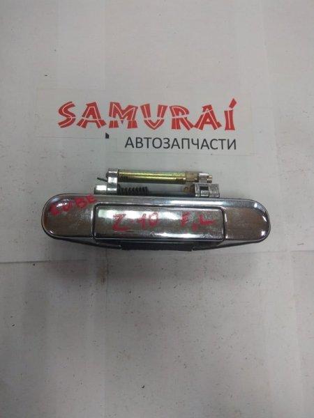 Ручка двери внешняя Nissan Cube Z10 передняя левая