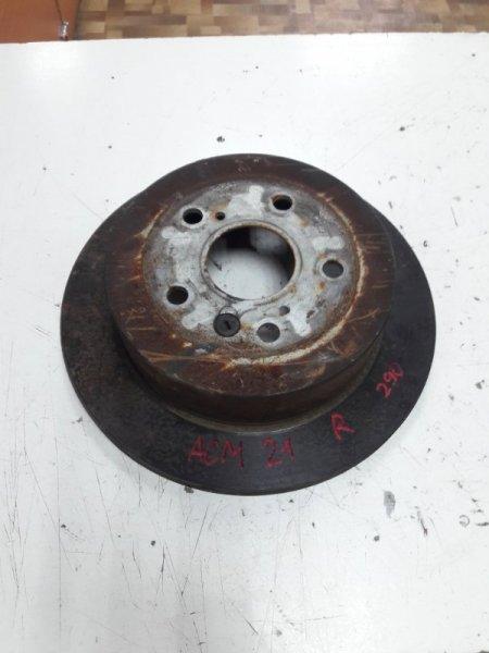 Тормозной диск Toyota Ipsum ACM21W 2AZFE задний