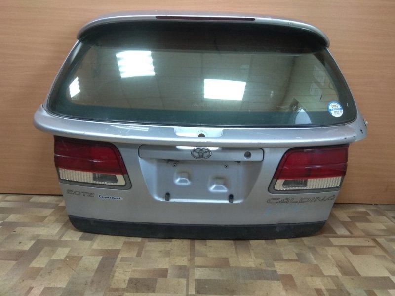 Дверь 5-я Toyota Caldina ST191