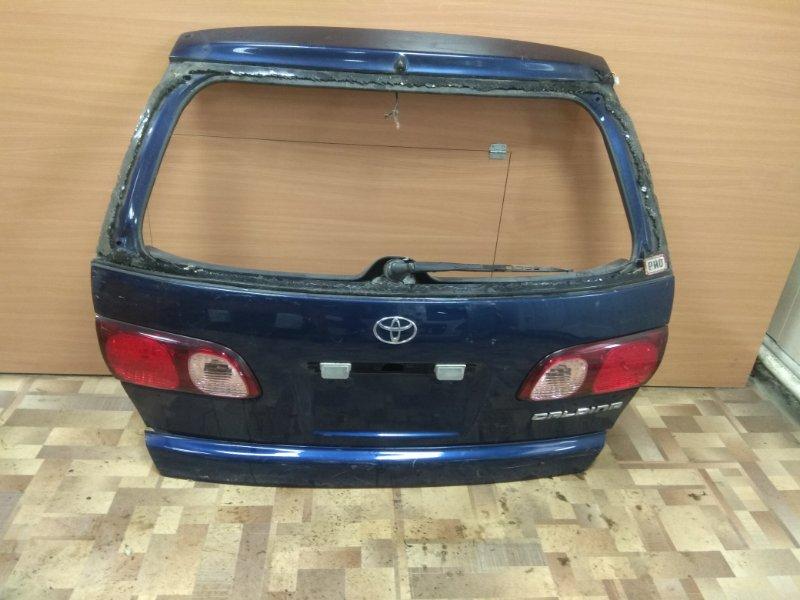 Дверь 5-я Toyota Caldina ST210