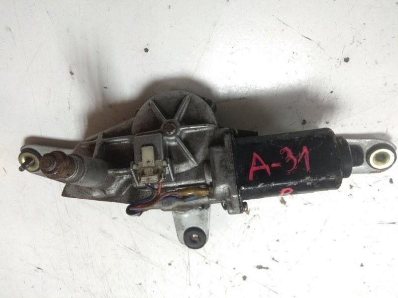 Мотор дворников Nissan Cefiro A31 задний