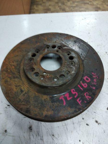 Тормозной диск Toyota Aristo JZS161 2JZGTE передний