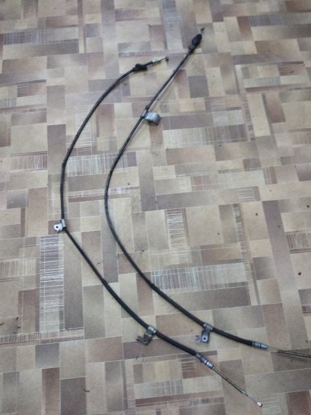 Тросик ручника Nissan Ad Y11 QG15DE задний