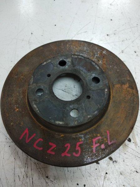 Тормозной диск Toyota Raum NCZ25 передний