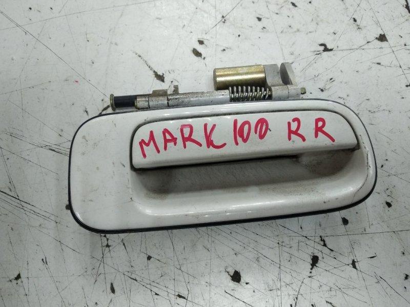 Ручка двери внешняя Toyota Markii JZX100 задняя правая