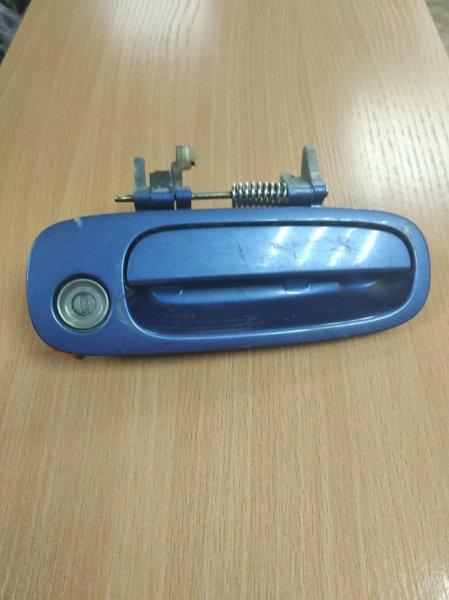 Ручка двери внешняя Toyota Ipsum SXM10 передняя правая