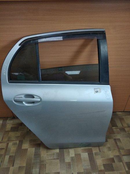 Дверь Toyota Vitz KSP90 задняя правая