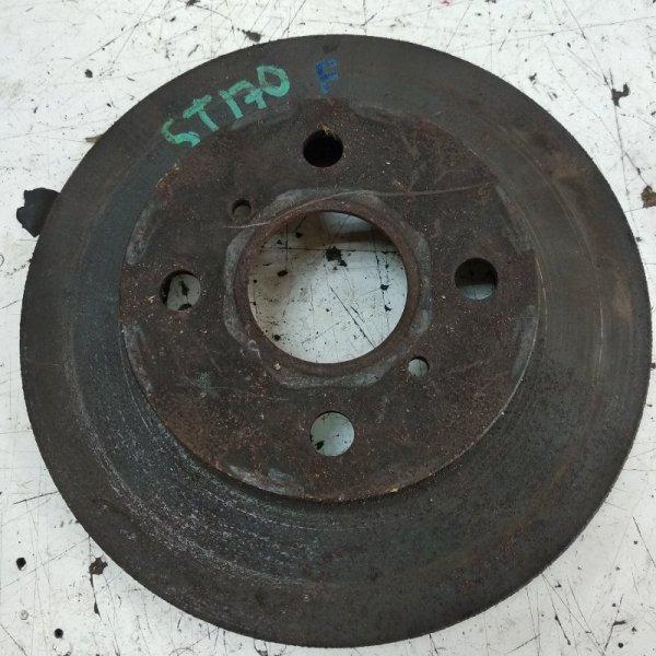 Тормозной диск Toyota Carina ST170 передний