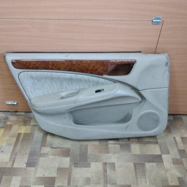 Обшивка двери Nissan Bluebird Sylphy G10 передняя левая