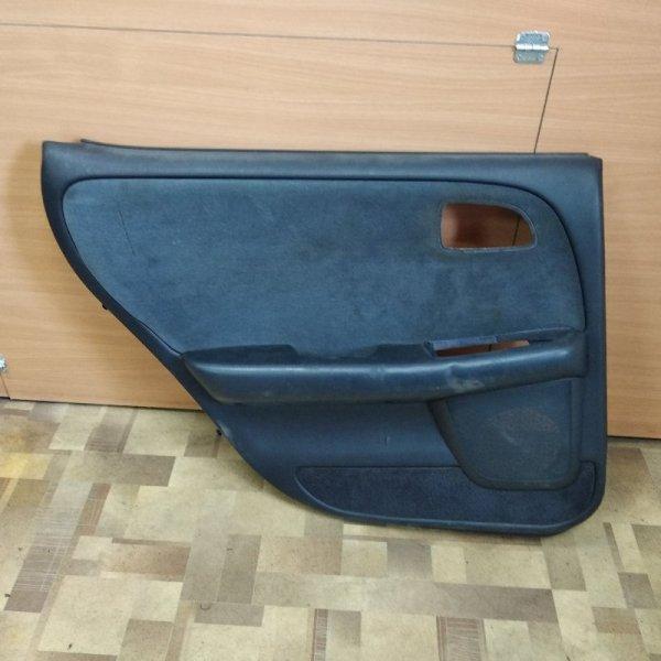 Обшивка двери Toyota Cresta JZX90 задняя левая