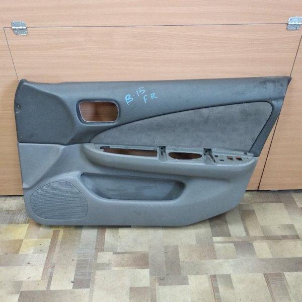 Обшивка двери Nissan Sunny FB15 передняя правая