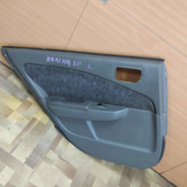 Обшивка двери Toyota Carina AT211 задняя левая