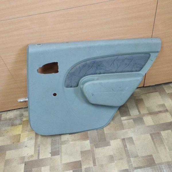 Обшивка двери Renault Logan задняя правая