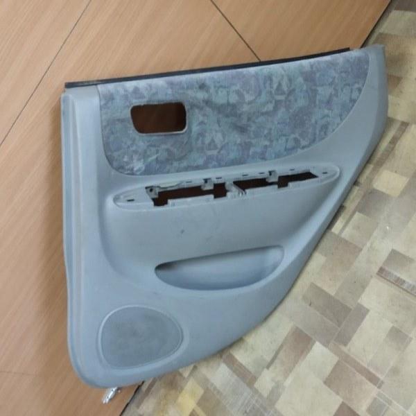 Обшивка двери Toyota Spacio AE111 задняя правая