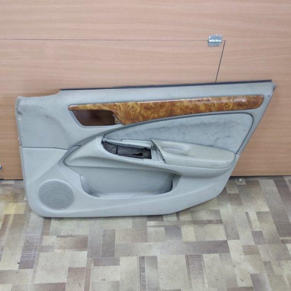 Обшивка двери Nissan Bluebird Sylphy G10 передняя правая