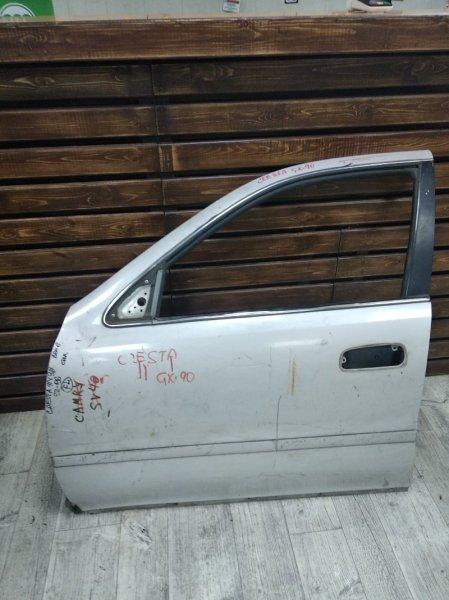Дверь Toyota Cresta GX90 передняя левая