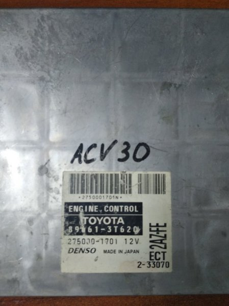 Блок efi Toyota Camry ACV30