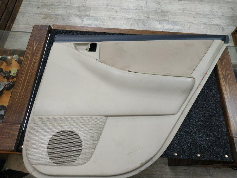 Обшивка двери Toyota Allex NZE121 задняя правая