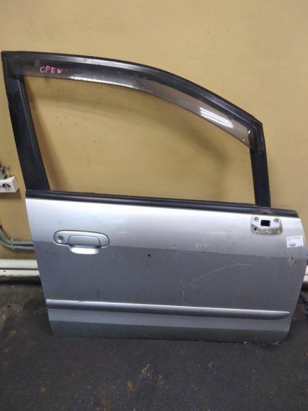 Дверь Mazda Premacy CP8W передняя правая