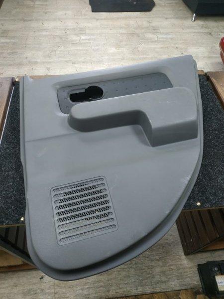 Обшивка двери Nissan Cube BZ11 задняя правая