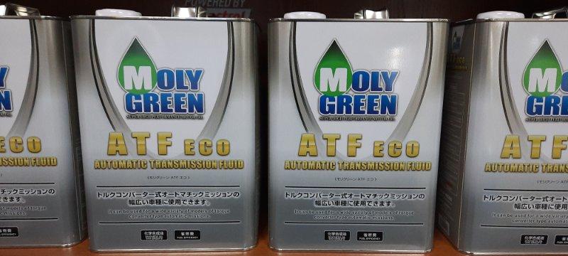 Масло трансмиссионное molygreen atf