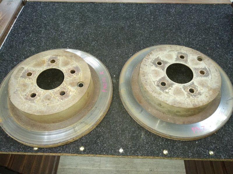 Тормозной диск Nissan Murano PNZ50 VQ35DE задний
