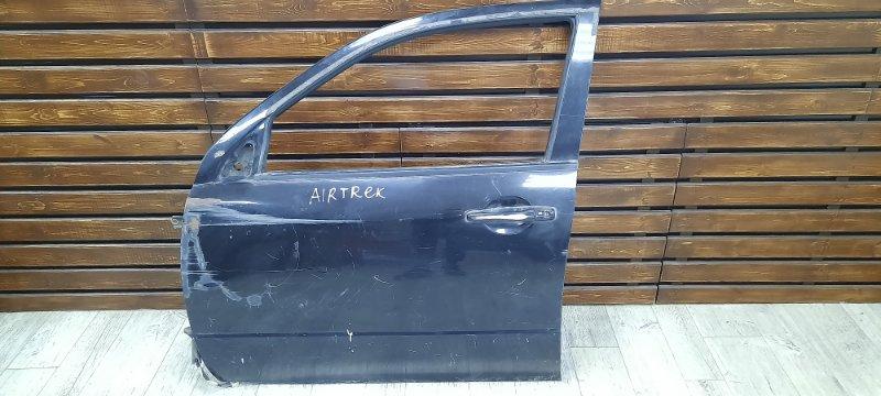 Дверь Mitsubishi Airtrek CU2W передняя левая