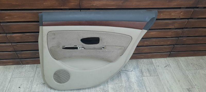 Обшивка двери Nissan Bluebird Sylphy G11 задняя правая