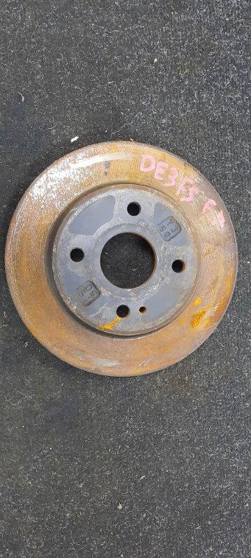 Тормозной диск Mazda Demio DE3FS передний