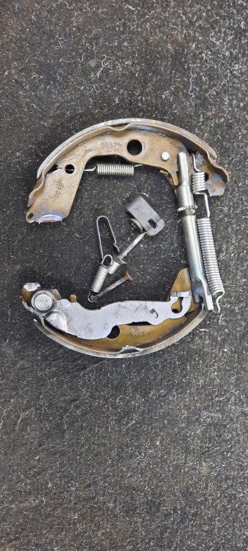 Механизм стояночного тормоза Mazda Demio DE3FS задний левый