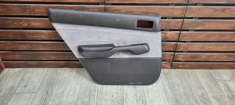 Обшивка двери Toyota Carina AT190 задняя левая