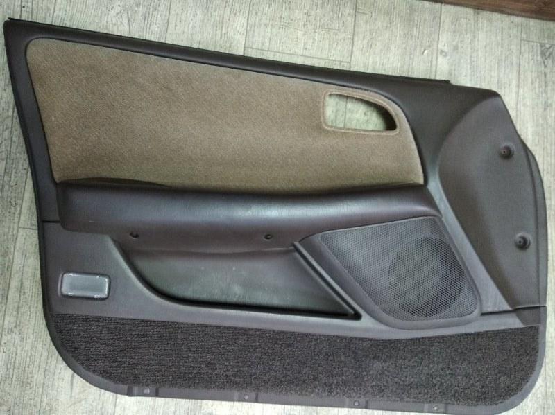 Обшивка двери Toyota Markii GX90 1GFE 1995 передняя правая