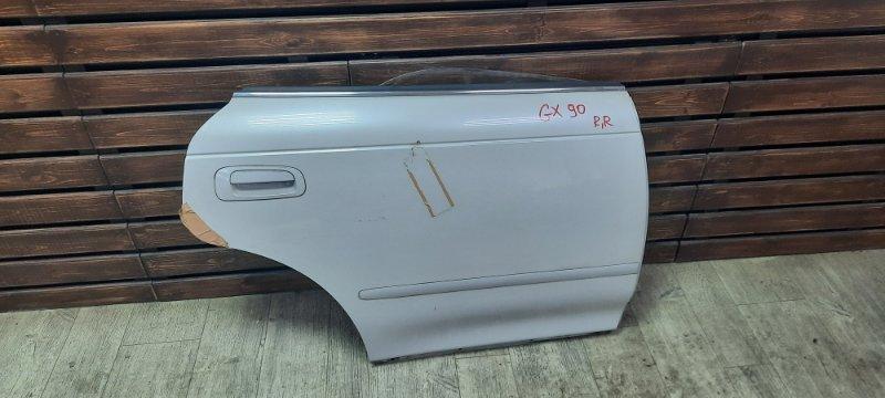 Дверь Toyota Markii GX90 1GFE 1995 задняя правая