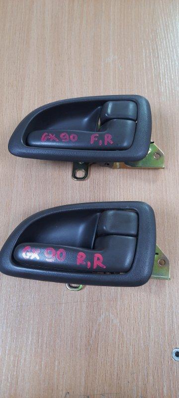 Ручка двери внутренняя Toyota Markii GX90 1GFE 1995 правая
